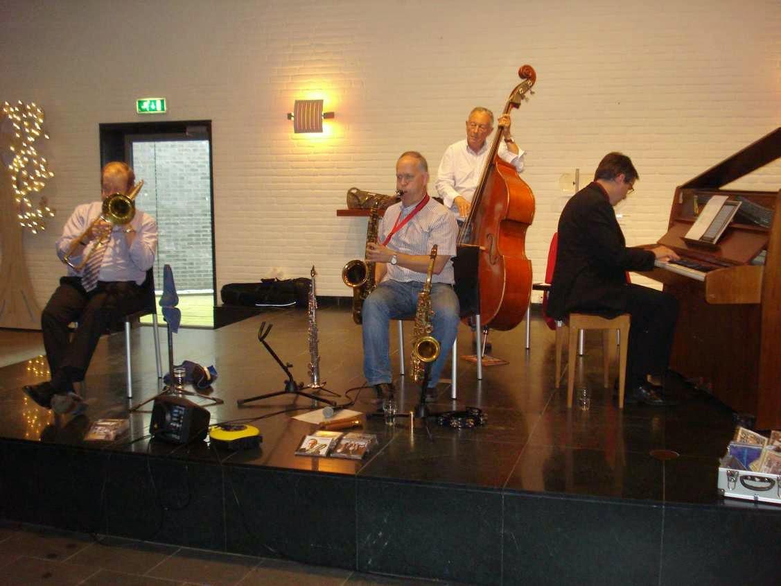Jos de Brouwer International All Stars Quartet- 31 augustus 2014-4